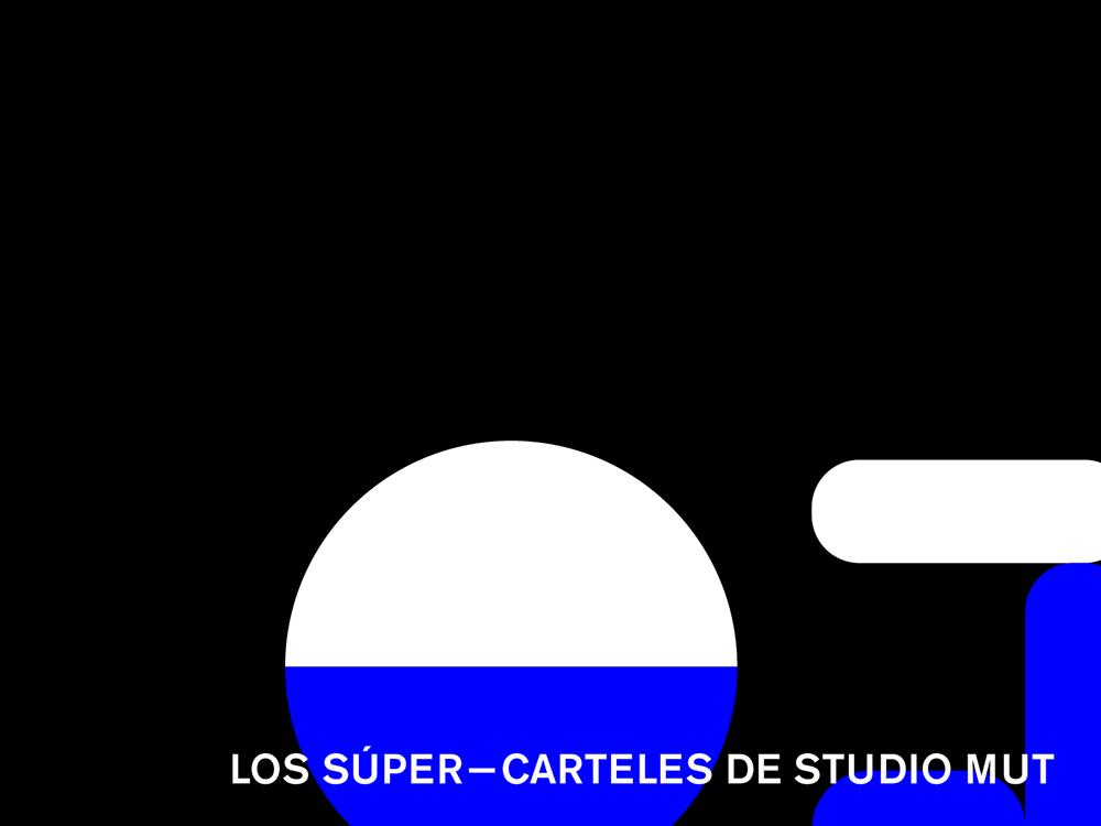 Los súper-carteles de Studio Mut. Gráfica y comunicación en el Centro Cultural Galileo de Madrid