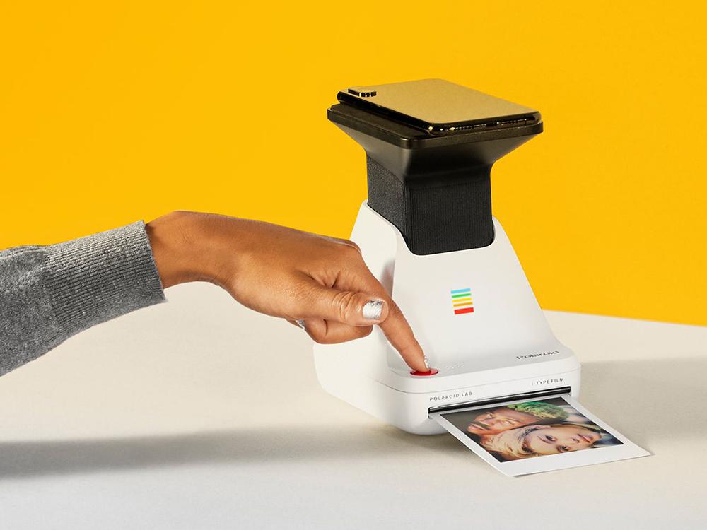 Polaroid Lab, el laboratorio fotográfico portátil de Polaroid. Instantáneas químicamente reales