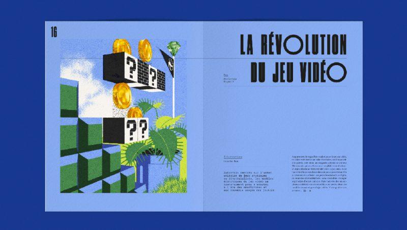 Yellow Vision vol.3: diseño editorial, ilustración y tipografía de Violaine & Jérémy
