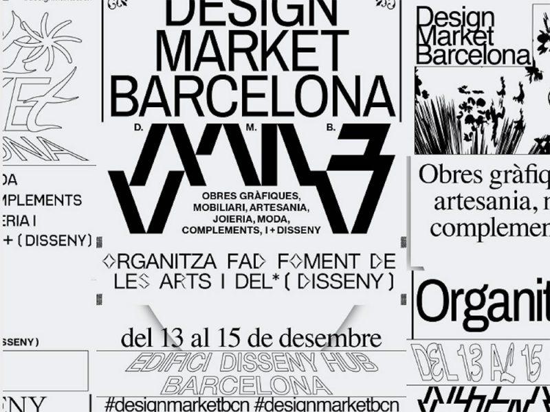 El Disseny Hub alberga un año más elDesign Market Barcelona