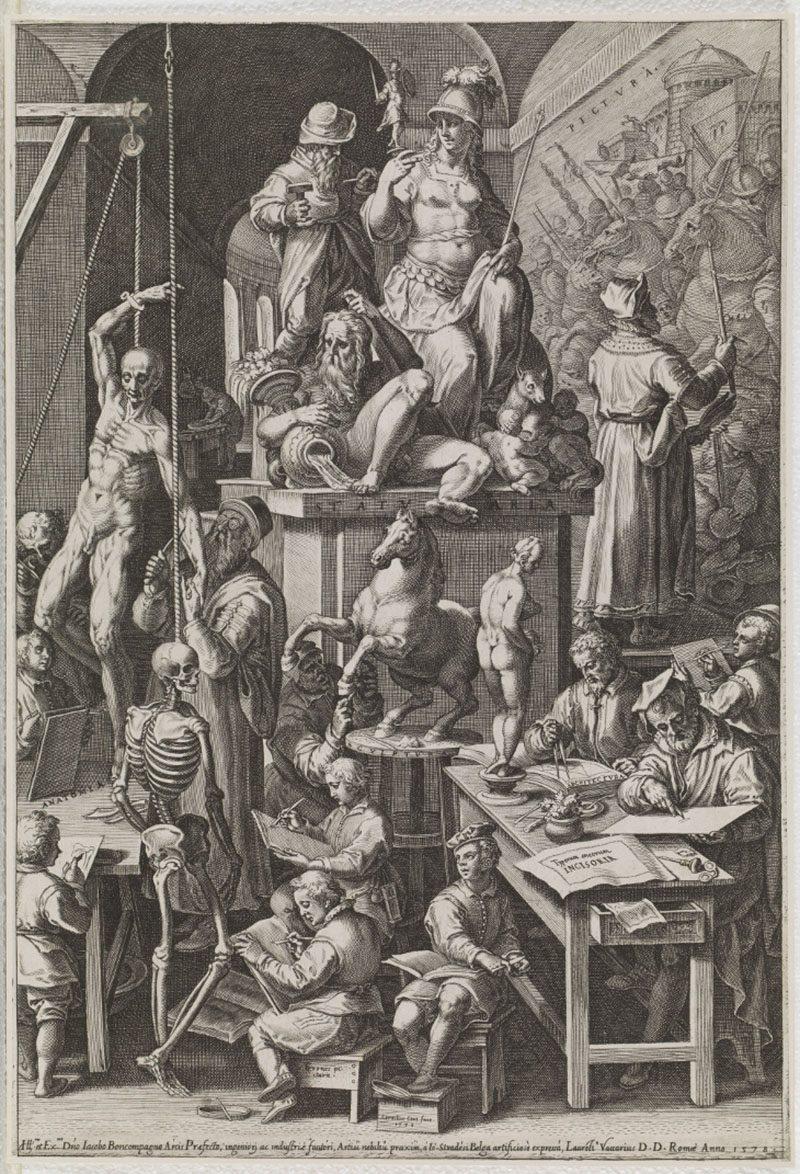 La enseñanza del dibujo y su evolución en una atractiva exposición en el Museo del Prado