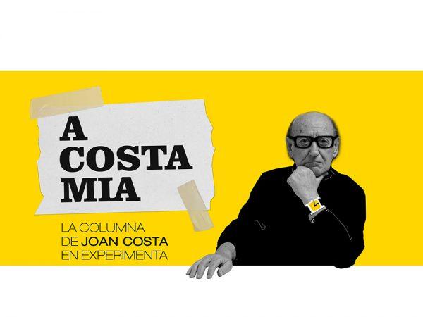 La columna de Joan Costa en Experimenta. Hoy: Info-grafía