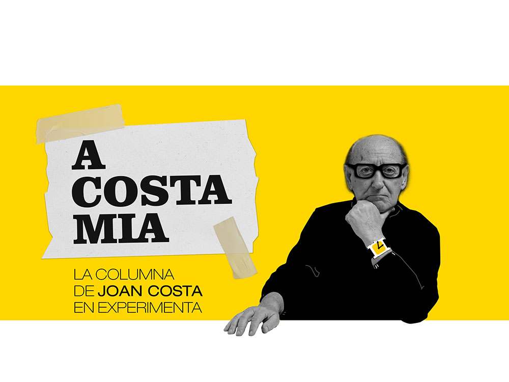 La columna de Joan Costa: Visual thinking