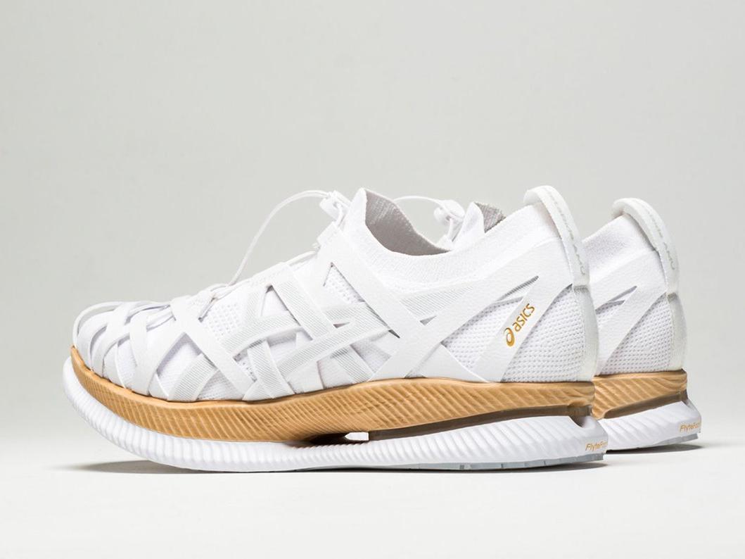 Metaride Amu: las zapatillas de bambú de Kengo Kuma. El material infinito