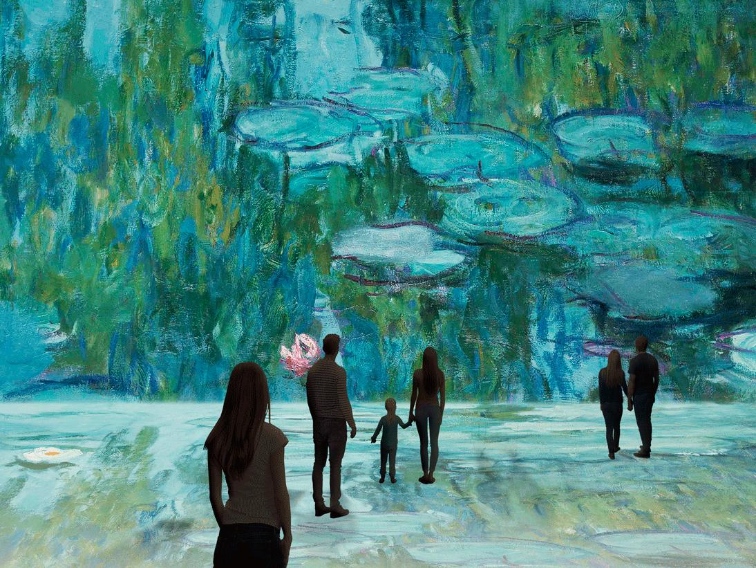 Monet, la experiencia inmersiva