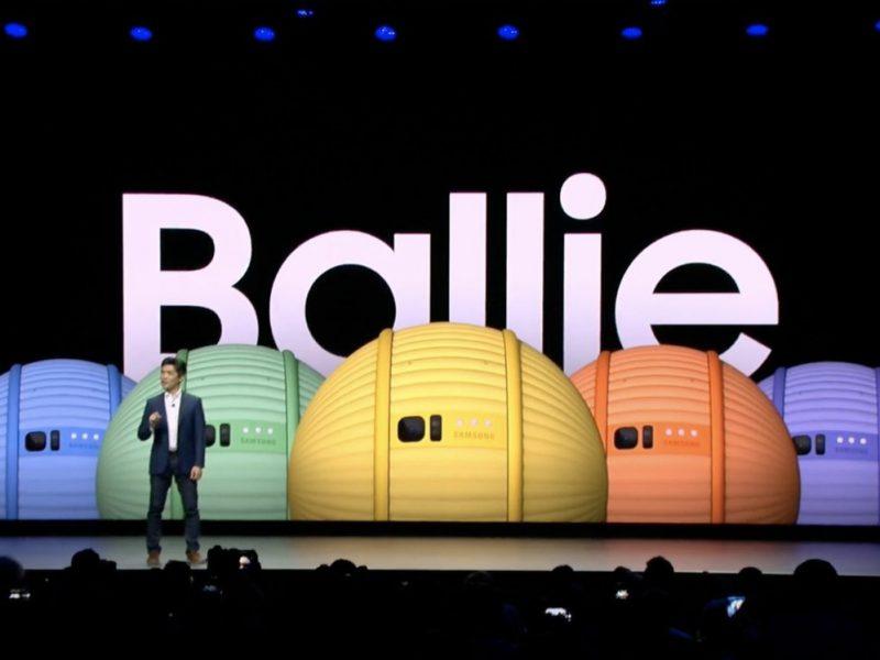 Ballie, el asistente robótico móvil de Samsung. Un BB-8 miniatura en tu hogar