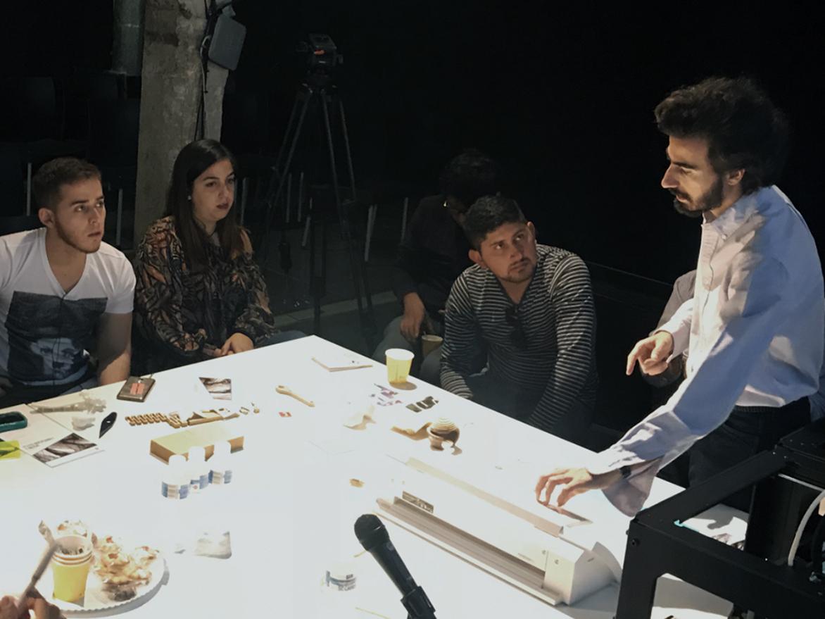 Charla sobre Diseño y Fabricación digital en la Central de Diseño de Matadero Madrid