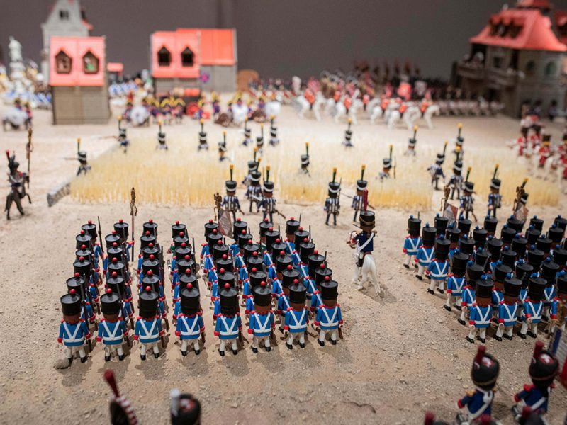 Clicks! Exposición de mundos Playmobil en el Palacio de Gaviria