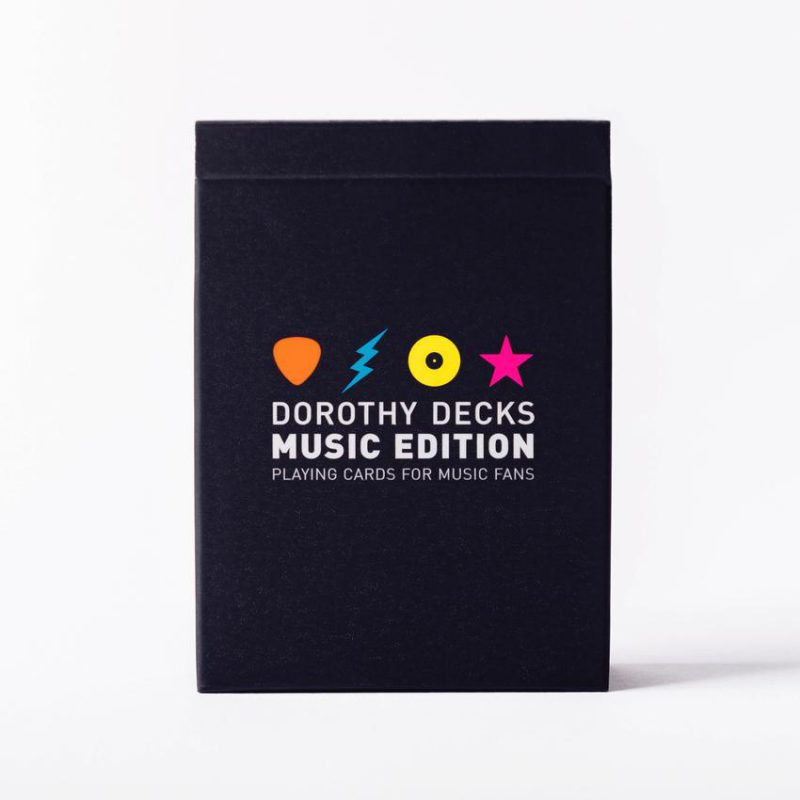 """Dorothy Decks, el juego de cartas """"musical"""" de Dorothy"""