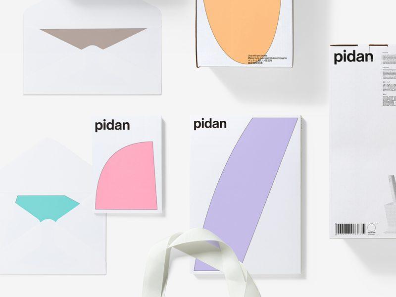 Pidan, rebranding de A Black Cover Design. Productos para animales a otro nivel