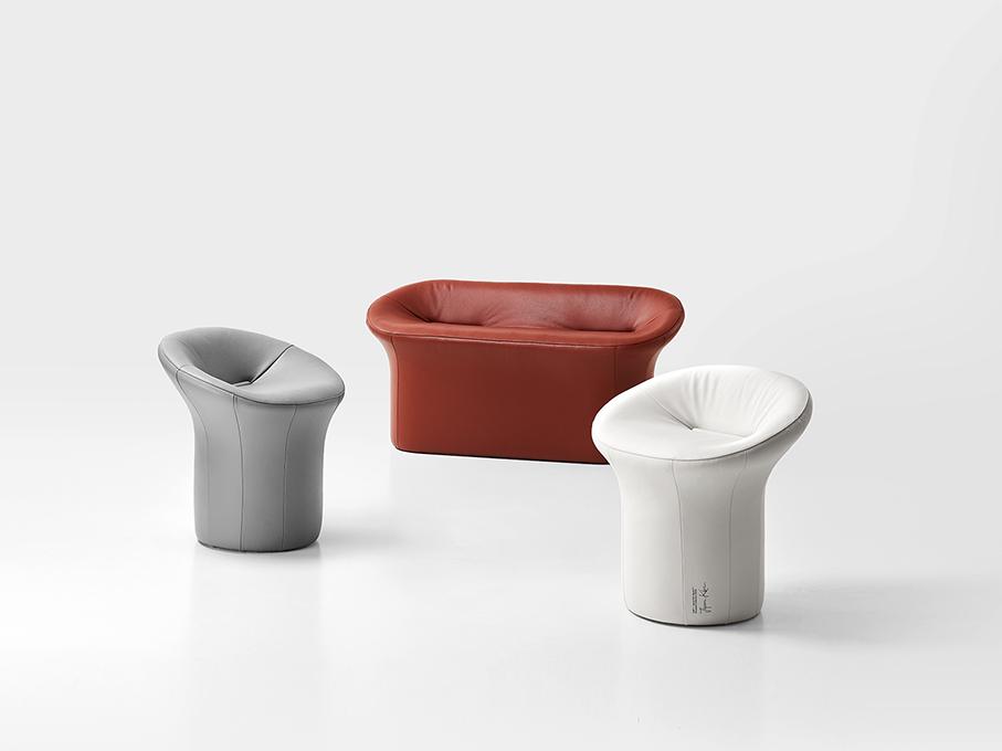 Scooped Collection,  el mobiliario de Jiyoun Kim Studio. El taburete como punto de partida