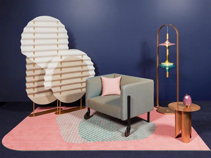 Valet, la colección de sofas móviles inspiración Memphisde LeviSarha