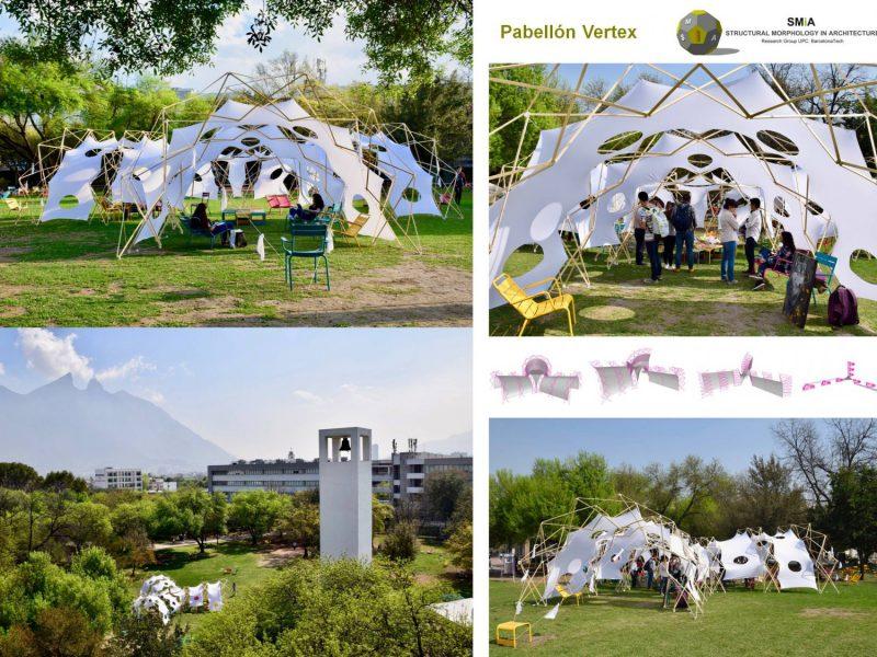 Emporia de Oro a la innovación en la arquitectura efímera: Pabellón Vertex, de Omar Fabrisio Avellaneda Lopez