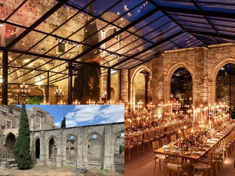 Emporia de Oro a la mejor construcción para un evento: Santa María La Real de Valdeiglesias, de Orca events