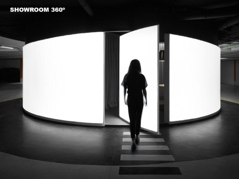 Emporia de Oro al mejor montaje de una exposición efímera no itinerante: Showroom 360º, de BoMa estudio
