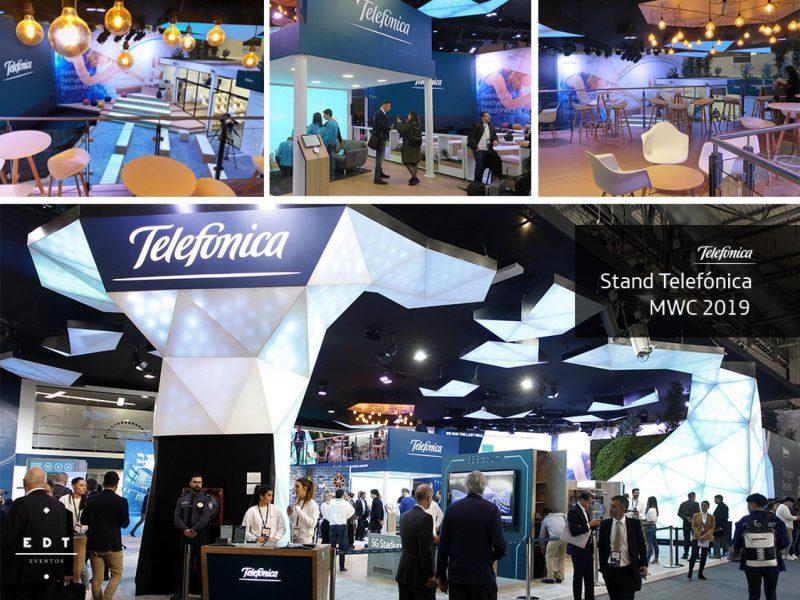 Emporia de Oro al mejor stand ferial de diseño: Telefónica Mobile World Congress 2019, de EDT Eventos
