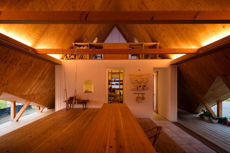 Hara House, un proyecto de Takeru Shoji. © Isamu Murai