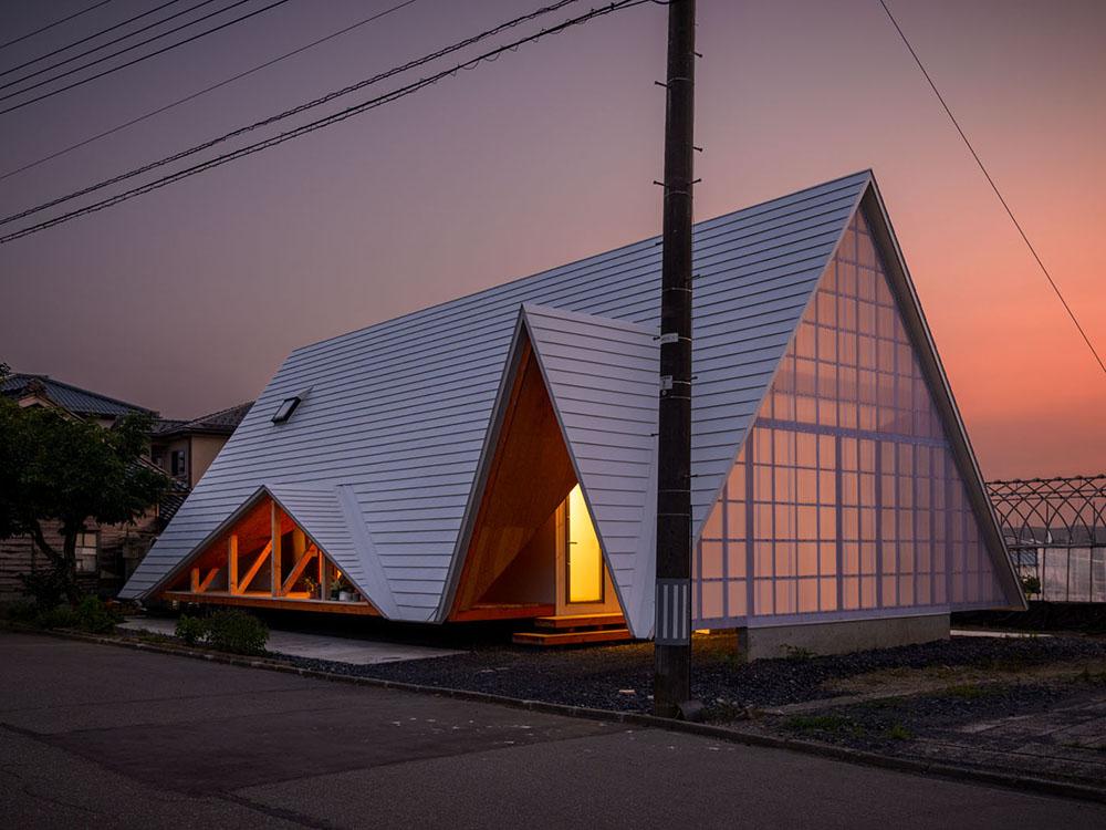 Hara House, un proyecto de Takeru Shoji. Tradición y modernidad a orillas del mar del Japón