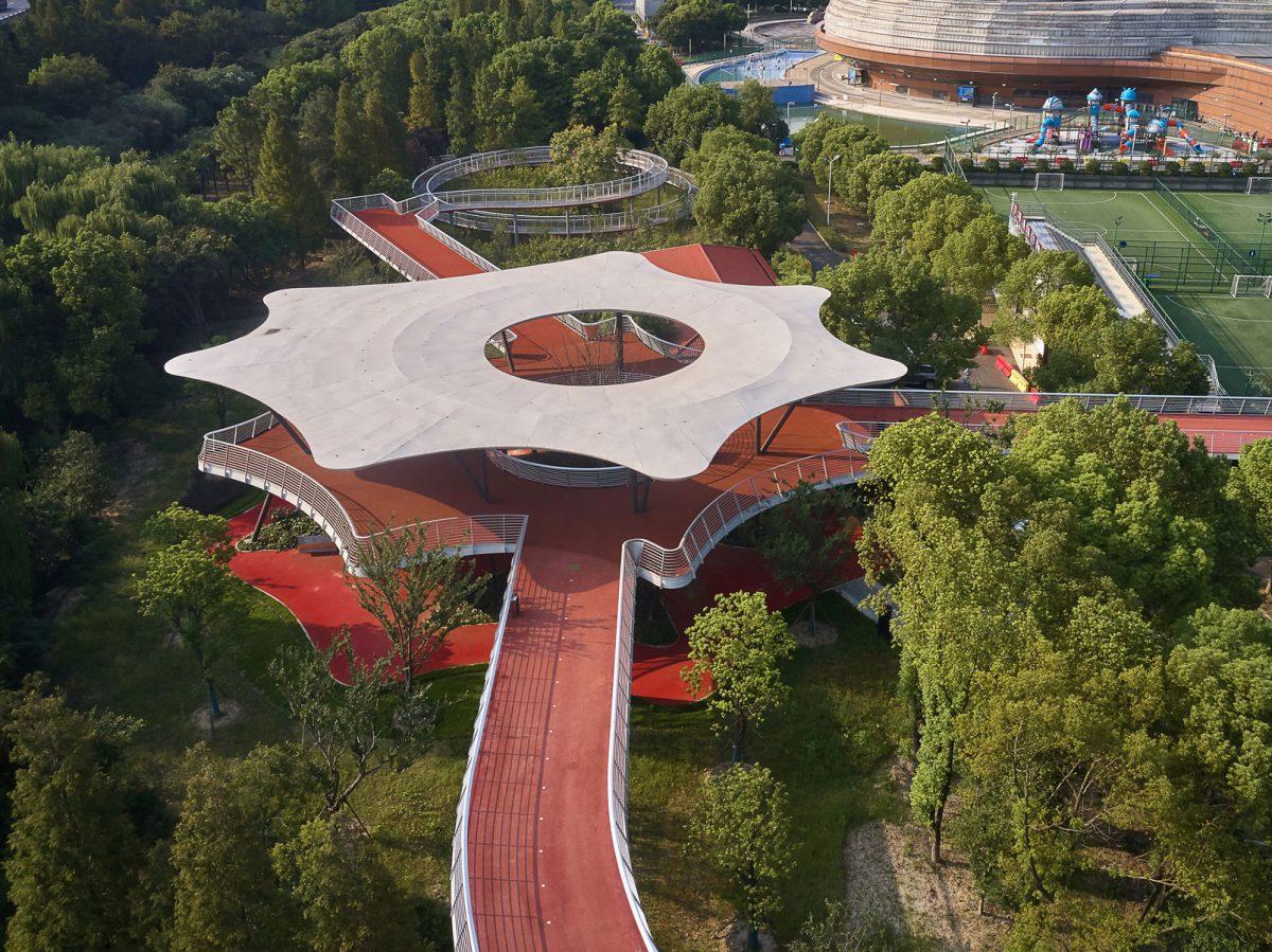 Jiangyin Greenway Loop, la gran vía verde de BAU. Humanizar las urbes