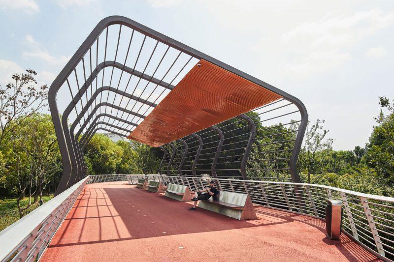Jiangyin Greenway Loop, la gran vía verde de BAU. © Pavel Shubskiy - Egghead Photo