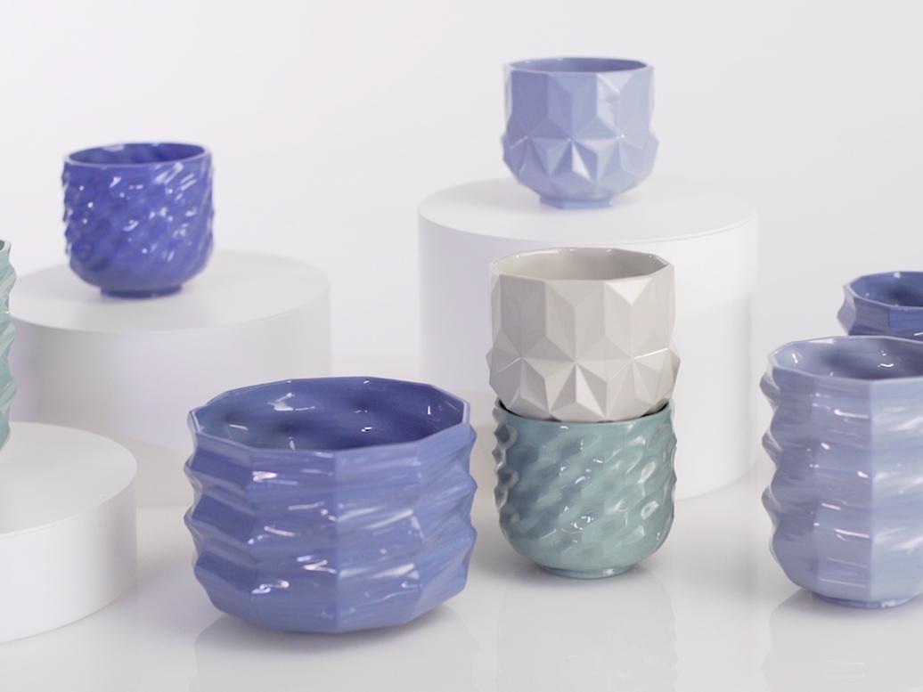 La cerámica paramétrica de Jimmy Jian y Jack Liu. Arcilla, algoritmos e inspiración