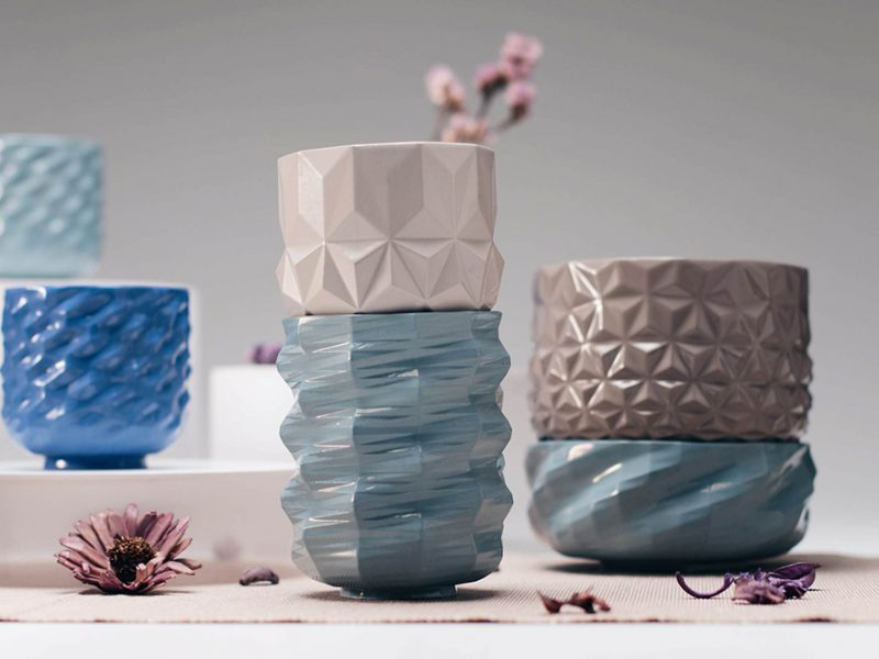 La cerámica parametrica de Jimmy Jian y Jack Liu. © Feng-Cyuan Ku