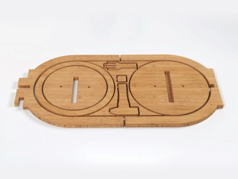 OO Stool, el taburete de bambú DIY de 56 hours. Buen diseño holandés