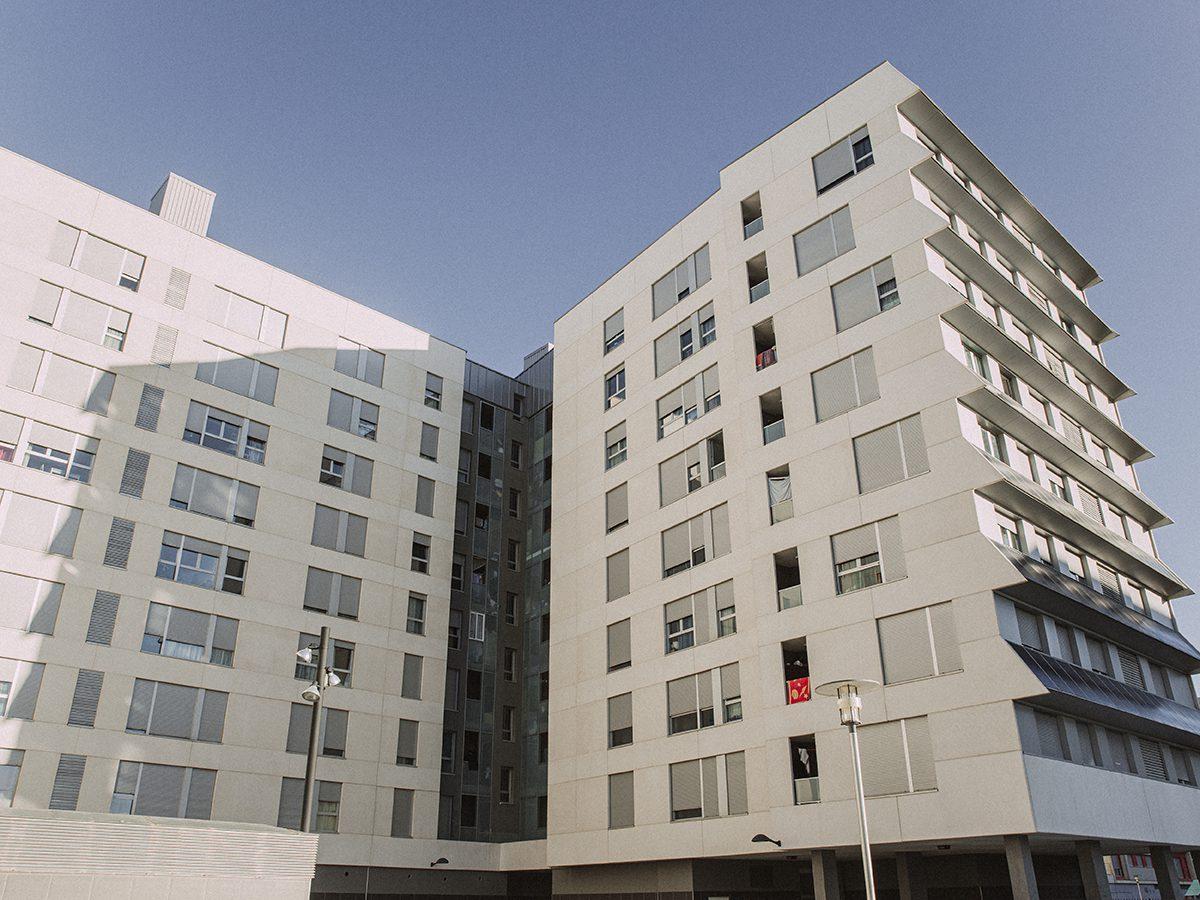 Un estudio de la UPV analiza el sobrecalentamiento de las viviendas causado por el cambio climático. © Yone Estivariz