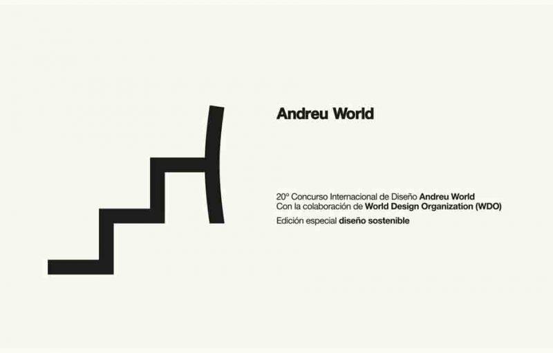 20º Concurso Internacional de Diseño Andreu World. Diseño sostenible