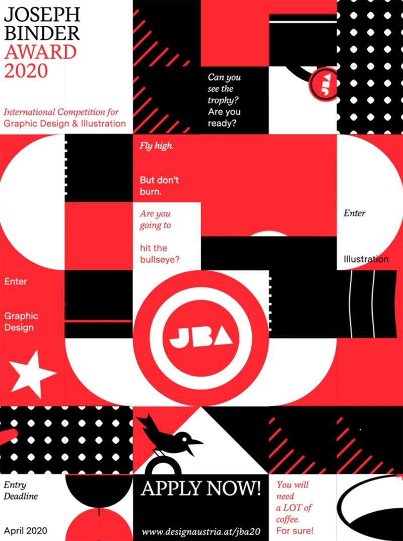 Joseph Binder Award 2020, el concurso para diseñadores gráficos de Designaustria