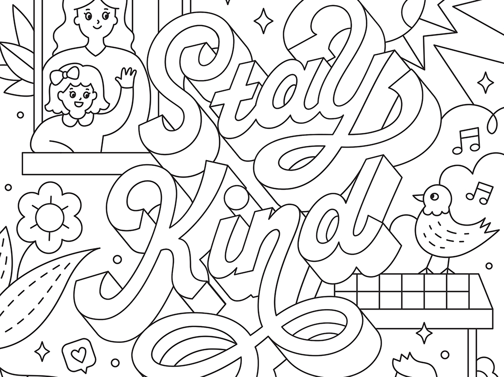 Adobe Coloring Book: las ilustraciones para colorear de descargas gratuita de Adobe
