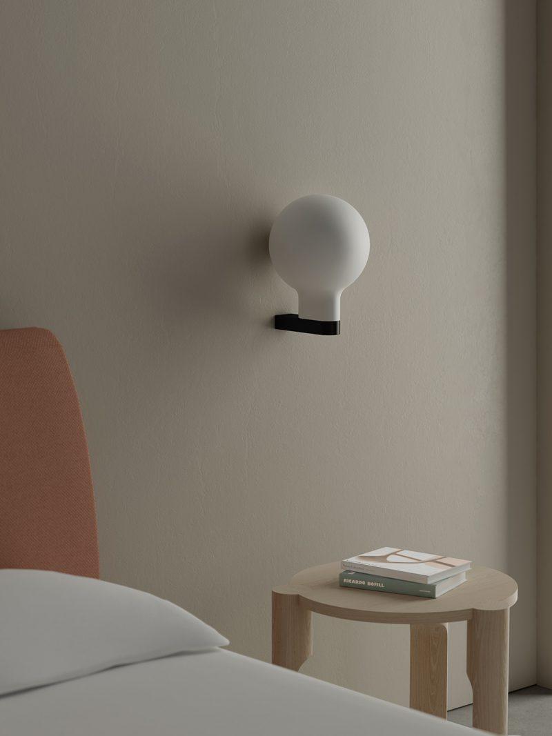 Lampara Bold, la intersección geométrica de Omelette. Iluminación valenciana