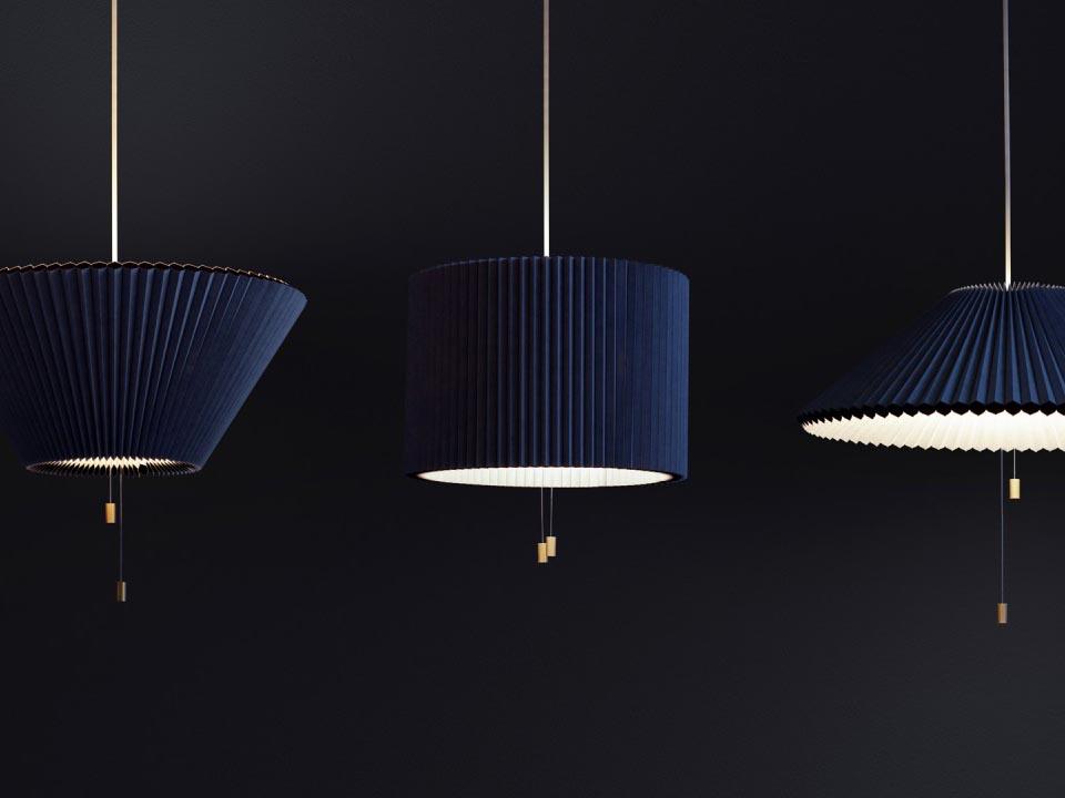 Méduse: la versátil lámpara de suspensión de Lukas Bazle