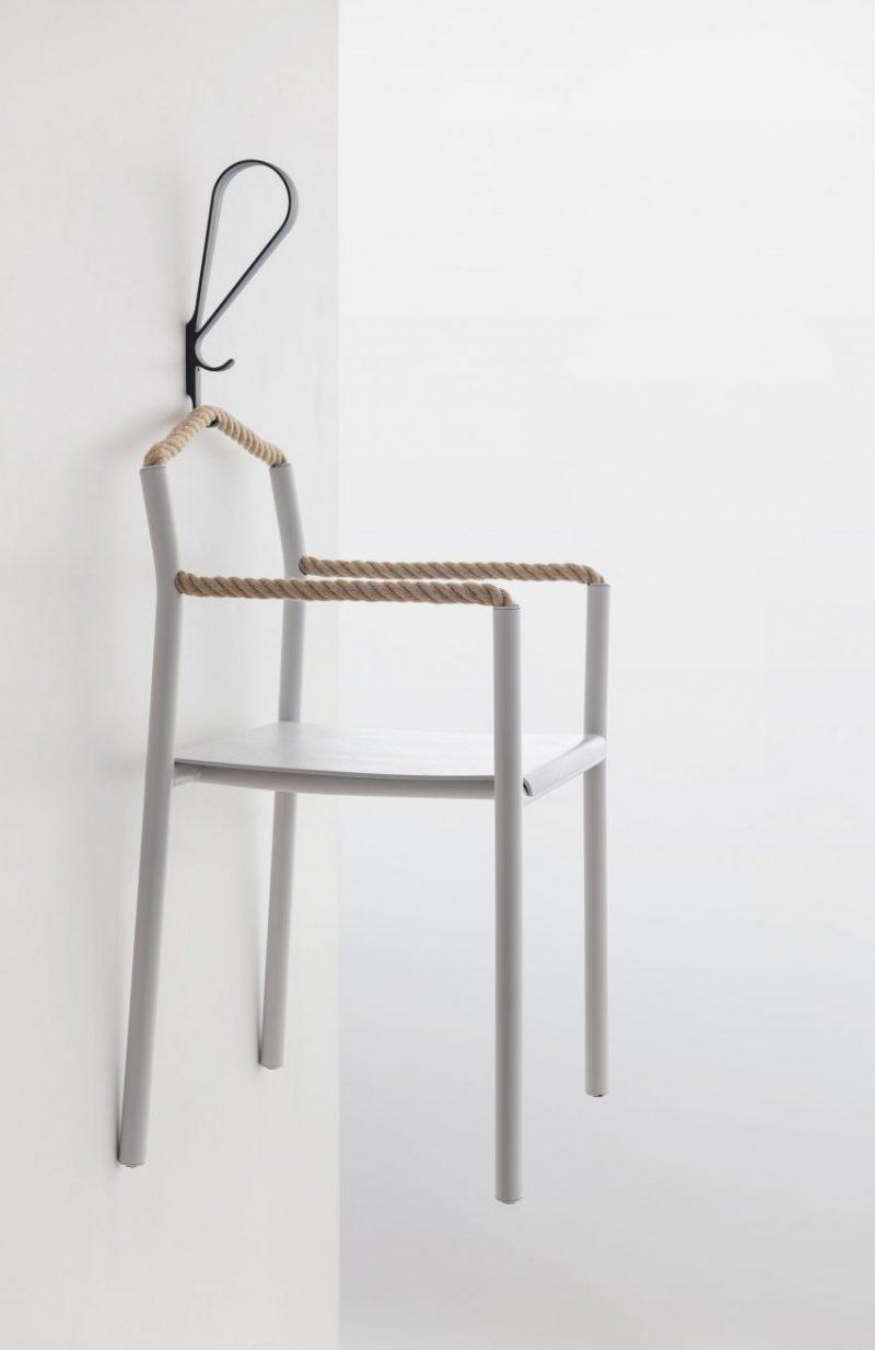 Rope, la silla encordada de Ronan & Erwan Bouroullec para Artek