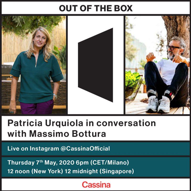 Cassina Out of the Box: Patricia Urquiola y Massimo Bottura en una charla sobre creatividad