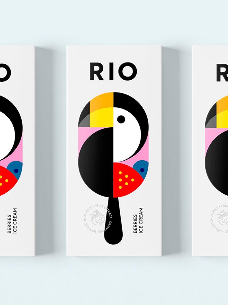 El diseño de un helado según Berik Yergaliyev. Entre Rio y Kazajistán