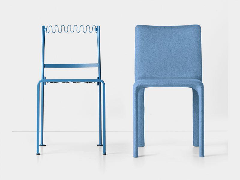 Joko, la colección de sillas de Bartoli Design para Kristalia