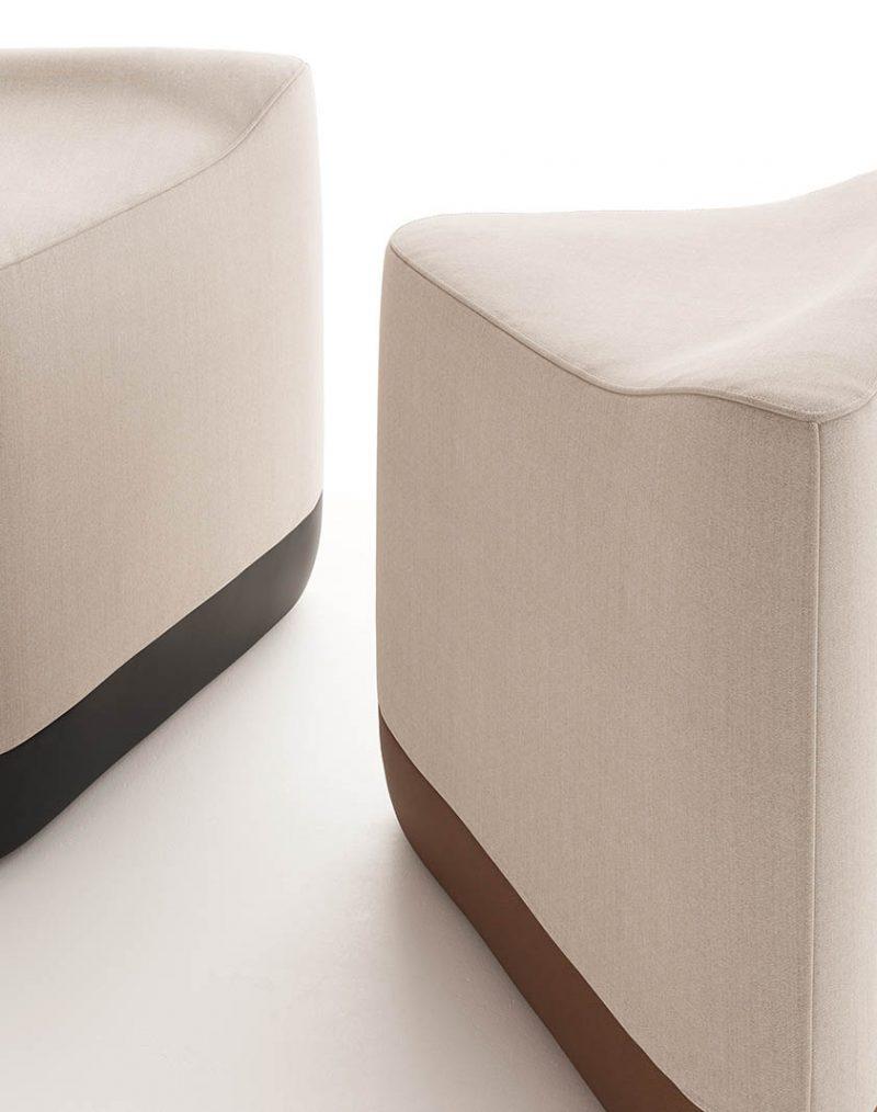 Ziggy: geometría y versatilidad en la nueva colección de mobiliario de Brad Ascalon