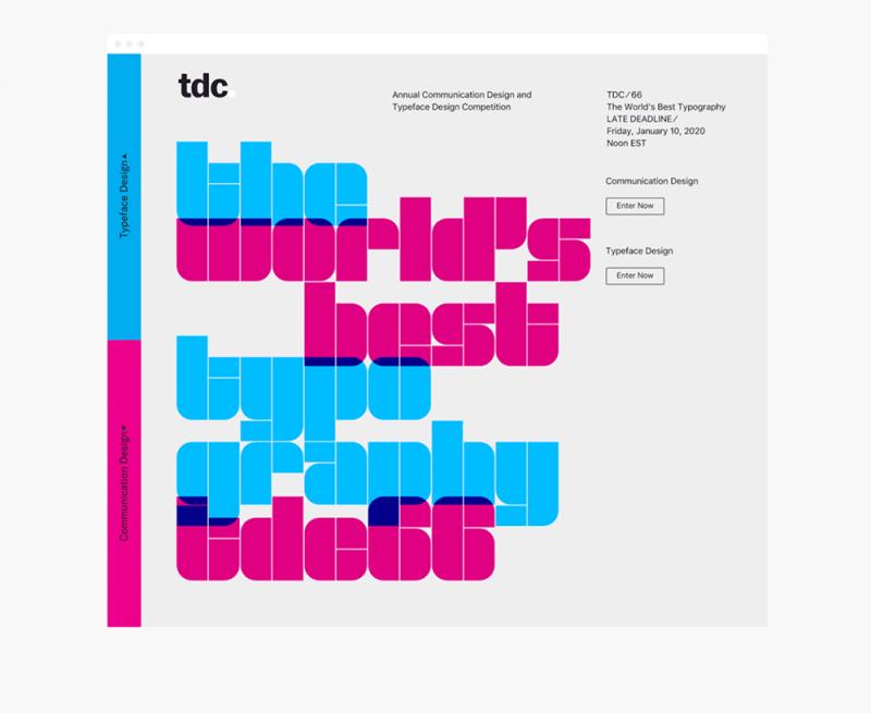 Anagrama desarrolla la identidad de TDC ⁄ 66. La tarea de diseñar para diseñadores