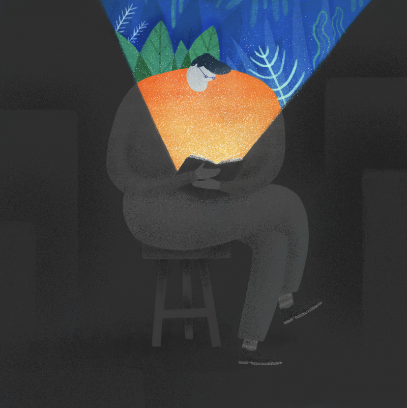 Color, forma y función en las ilustraciones de Mark Conlan