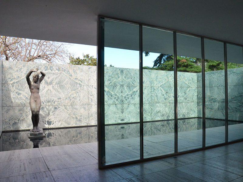 El Pabellón Mies van der Rohe reabre con un descuento del 50% en el precio de las entradas