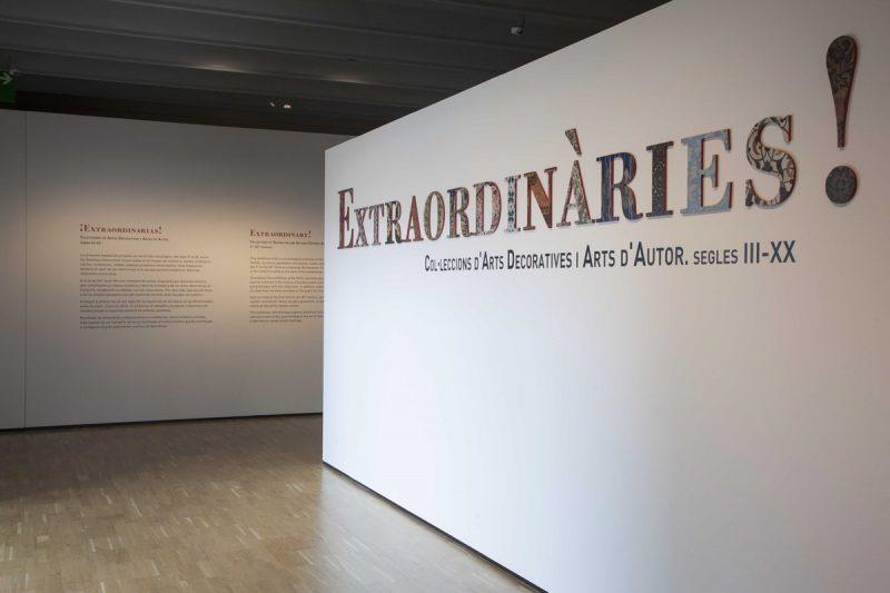 ¡Extraordinarias! Colecciones de artes decorativas y artes de autor (siglos III-XX)