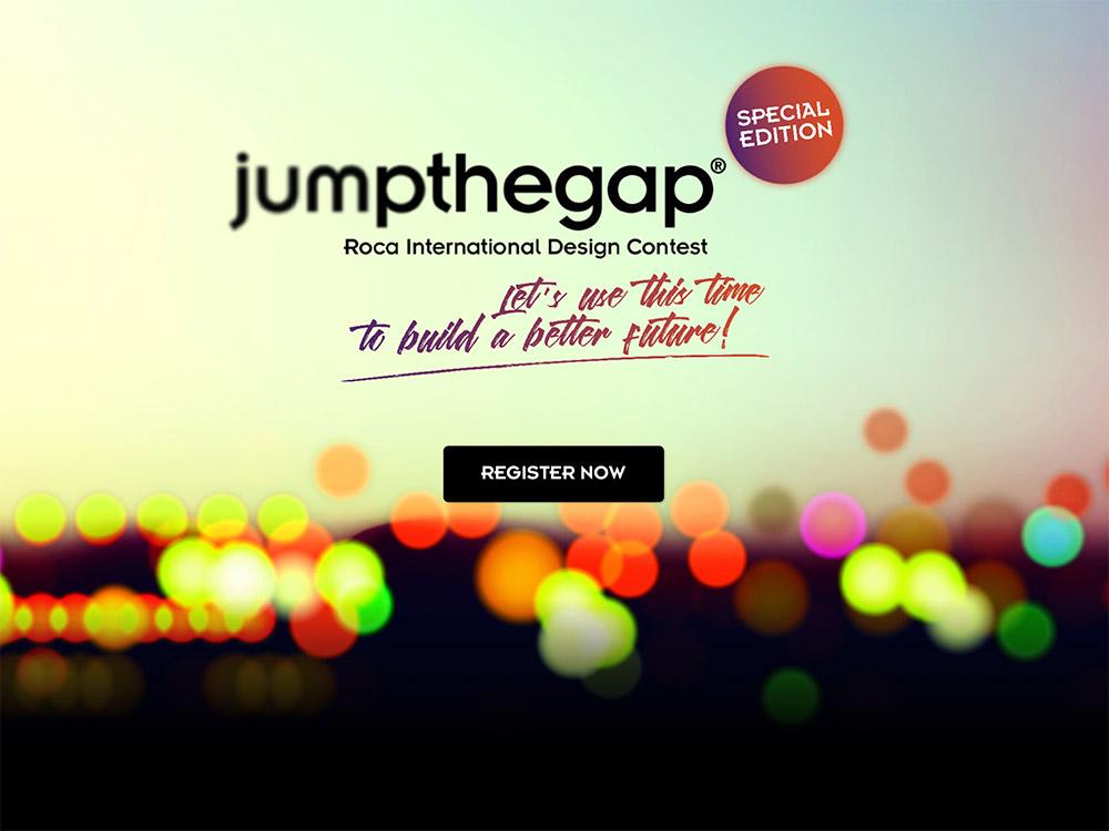 Participa en la edición especial Jumpthegap, el concurso internacional de diseño de Roca