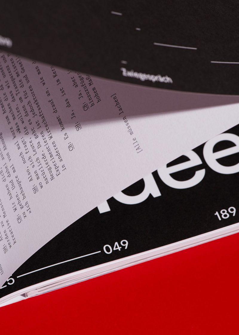 Phase XI, diseño editorial de Hardy Seiler Bureau. Un ejercicio de creatividad