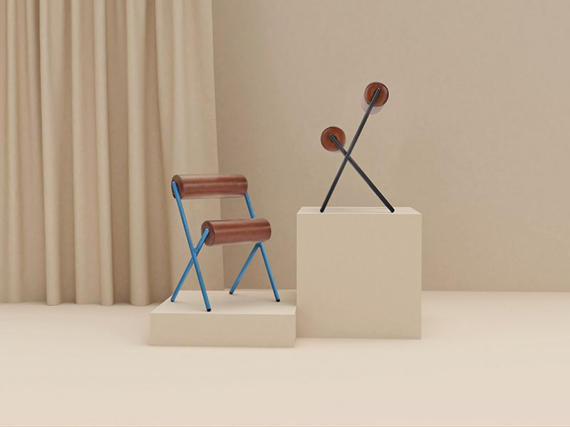 Roll: la escultora y atrevida silla que Mut ha diseñado para Sancal