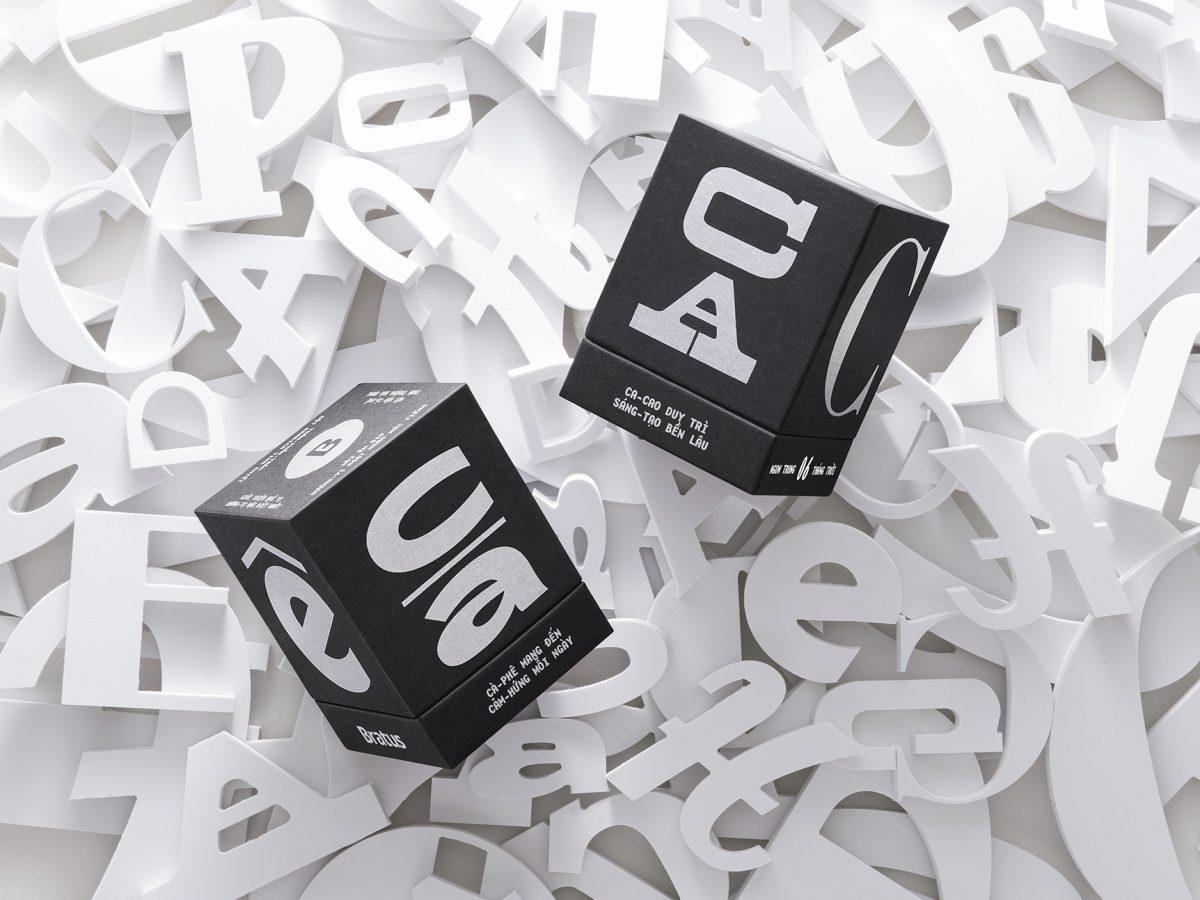 Bratus presenta Mặt chữ, un packaging para rescatar el legado tipográfico de Vietnam
