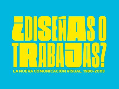 ¿Diseñas o trabajas? Un viaje por el diseño español en el Museo del Diseño de Barcelona