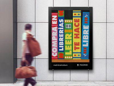 La campaña de Rodríguez y Cano para fomentar la lectura en Madrid