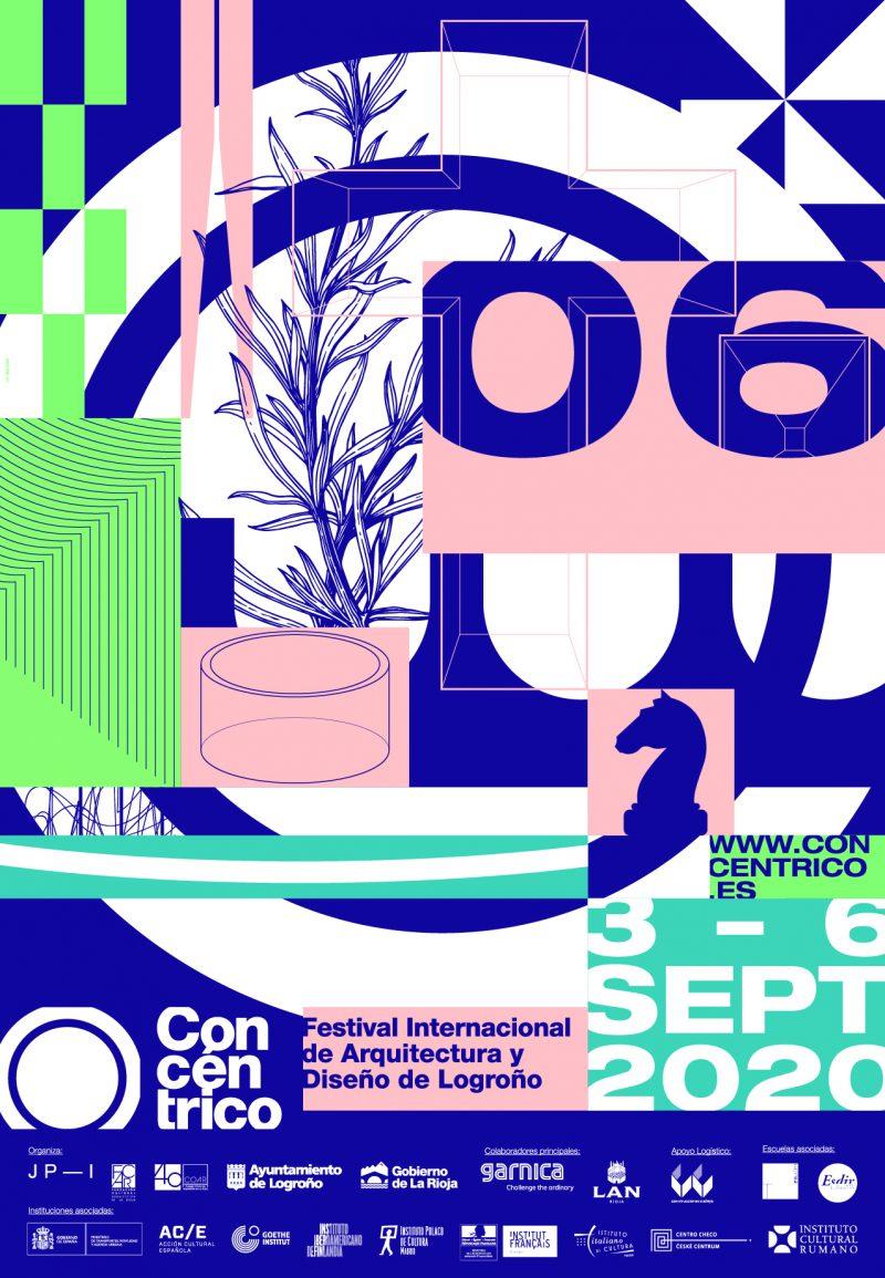 La sexta edición de Concéntrico ya está aquí. El festival de Arquitectura y Diseño de Logroño