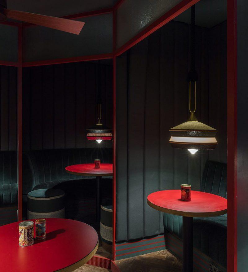 Piraña: diseño de interior atemporal de Sella en el centro de Londres